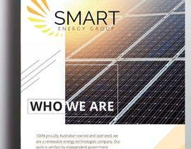 #4 for Design a Brochure - Solar Company by Steffevang