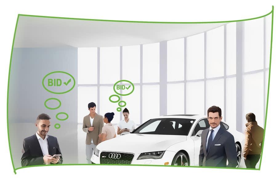 Proposition n°4 du concours Create images to explain blind.auction service
