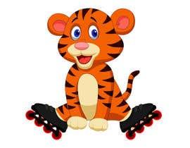 #23 for Design a Logo - baby skating tiger by balajiramadoss