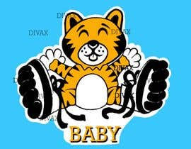 #31 for Design a Logo - baby skating tiger by Divax