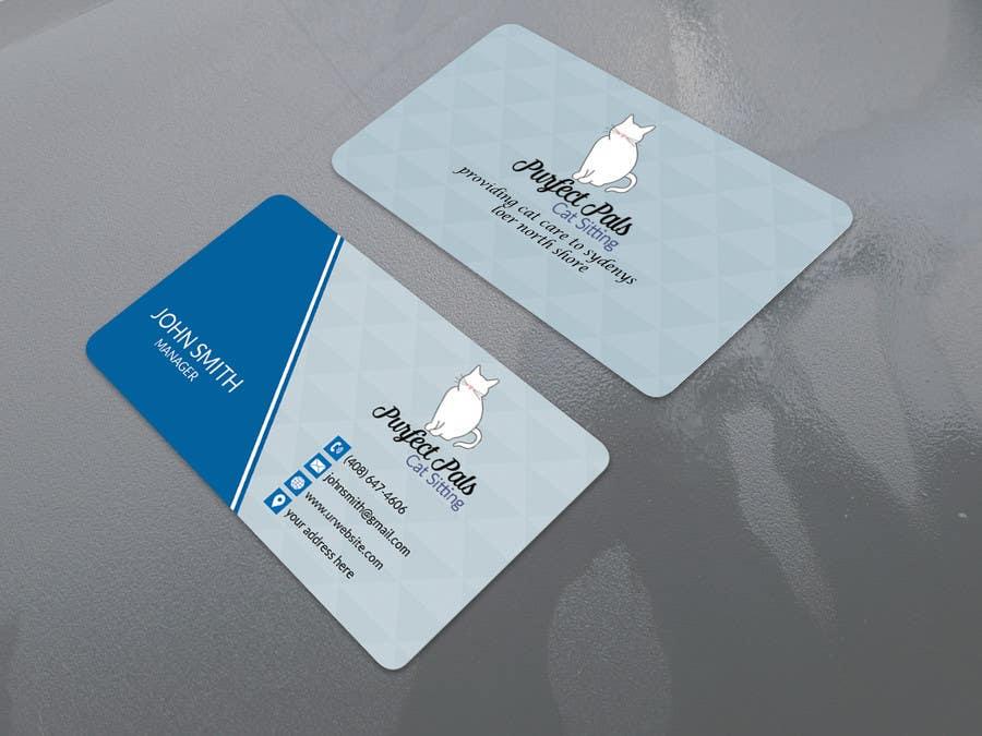 Proposition n°106 du concours Design some Business Cards