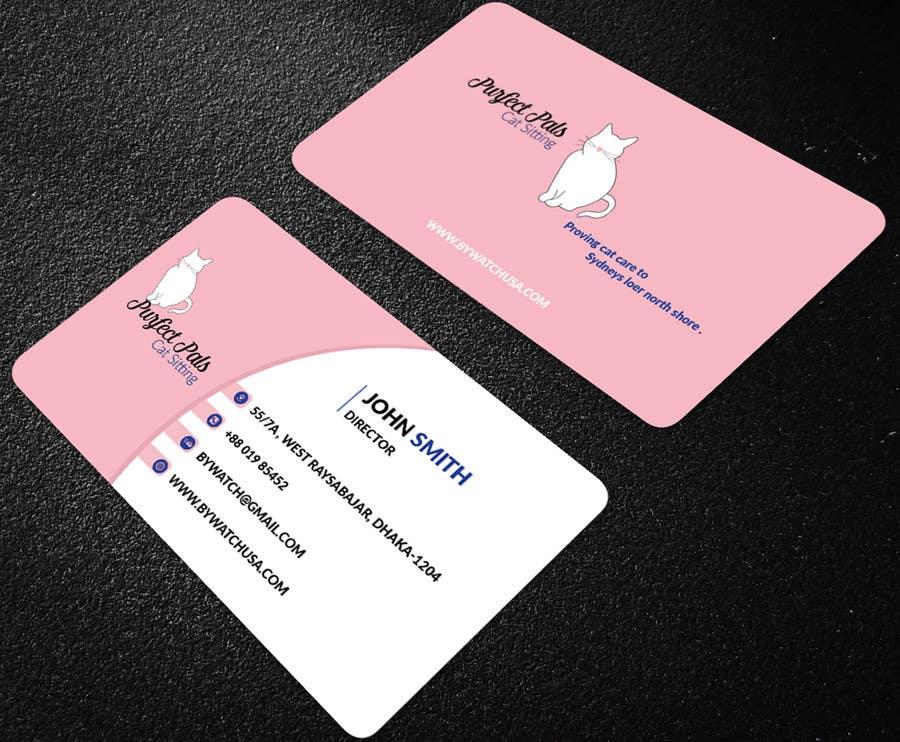 Proposition n°34 du concours Design some Business Cards