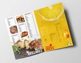 #2 for Create a Print Design for a Morrocan fast food by frontrrr