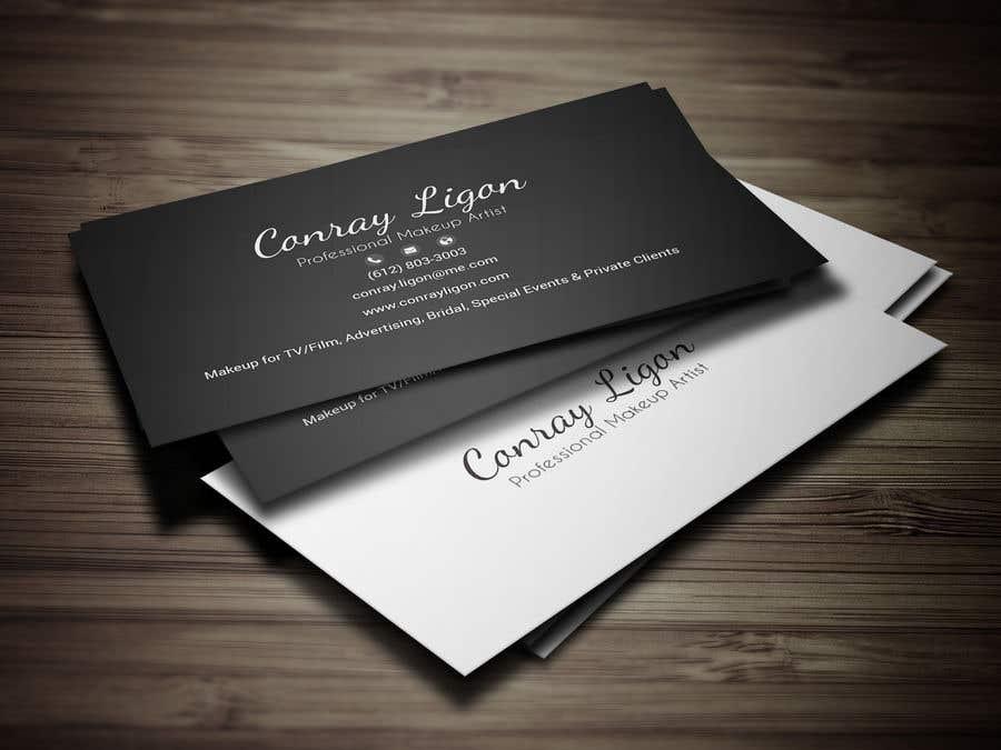 Proposition n°364 du concours Professional business card for male makeup artist.