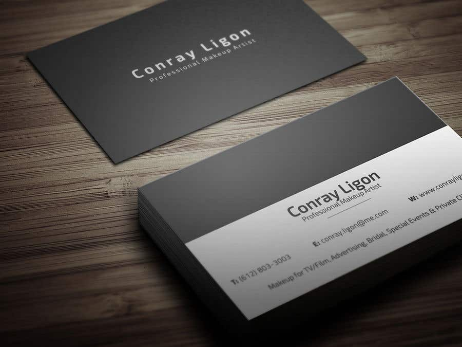 Entry 101 by kibriya01 for professional business card for male contest entry 101 for professional business card for male makeup artist colourmoves