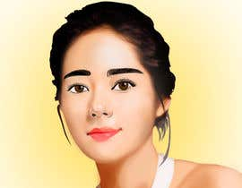 #47 for Upgrade and color girl's face in Adobe Illustrator by kimcinicula