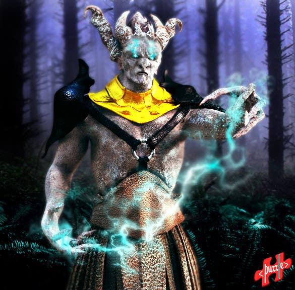 Proposition n°17 du concours Design a monster character Concept Art