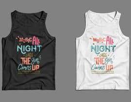 nº 12 pour Design Summer Tank Top for Live Bold Clothing par SupertrampDesign