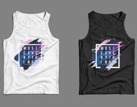 Nro 13 kilpailuun Design Summer Tank Top for Live Bold Clothing käyttäjältä SupertrampDesign