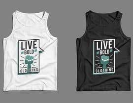 nº 27 pour Design Summer Tank Top for Live Bold Clothing par SupertrampDesign