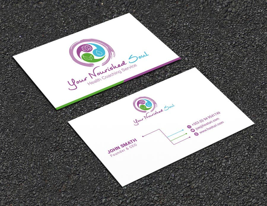 Proposition n°47 du concours I need business cards designed