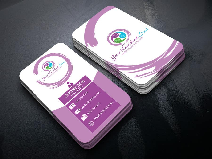 Proposition n°116 du concours I need business cards designed