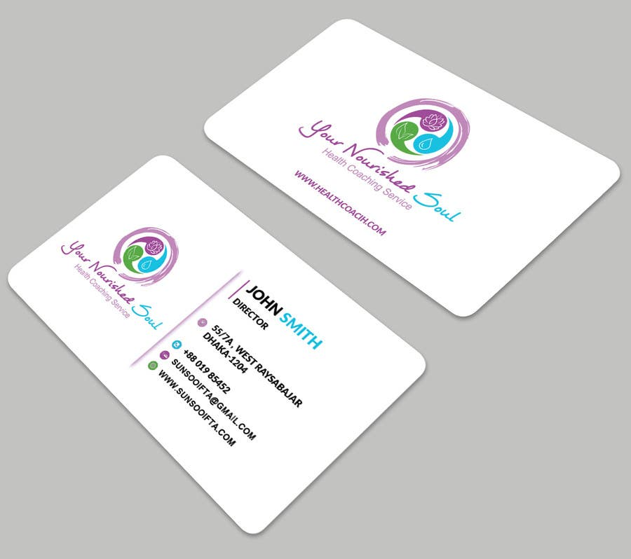Proposition n°31 du concours I need business cards designed