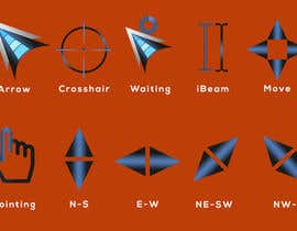 #44 for Design a cursor set by yeadul