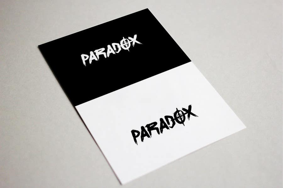 Proposition n°41 du concours I need a logo for my edm project  (paradox)
