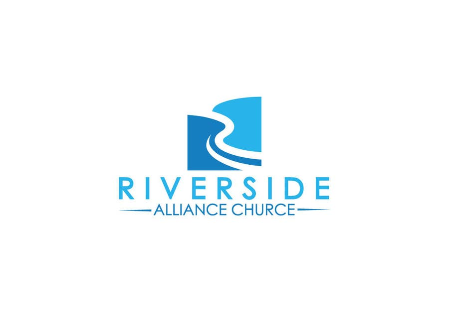 Kilpailutyö #103 kilpailussa Design a Logo River Church