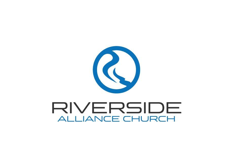 Kilpailutyö #133 kilpailussa Design a Logo River Church