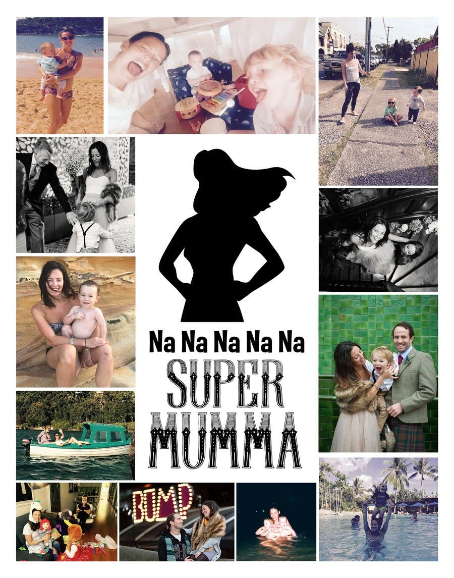 Proposition n°11 du concours Put together Photo Canvas for me for Mothers Day