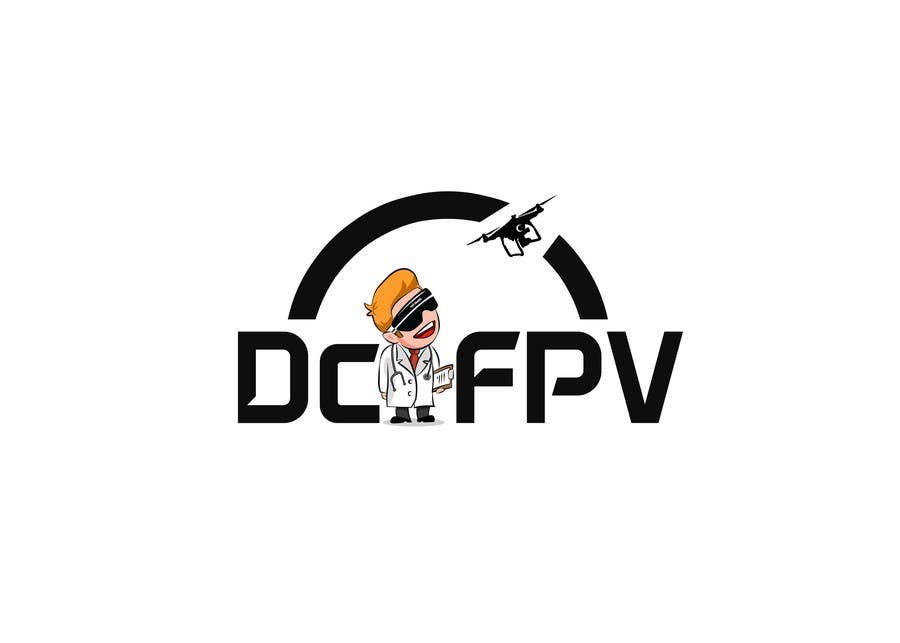Proposition n°10 du concours Cool logo needed, quadcopter FPV related