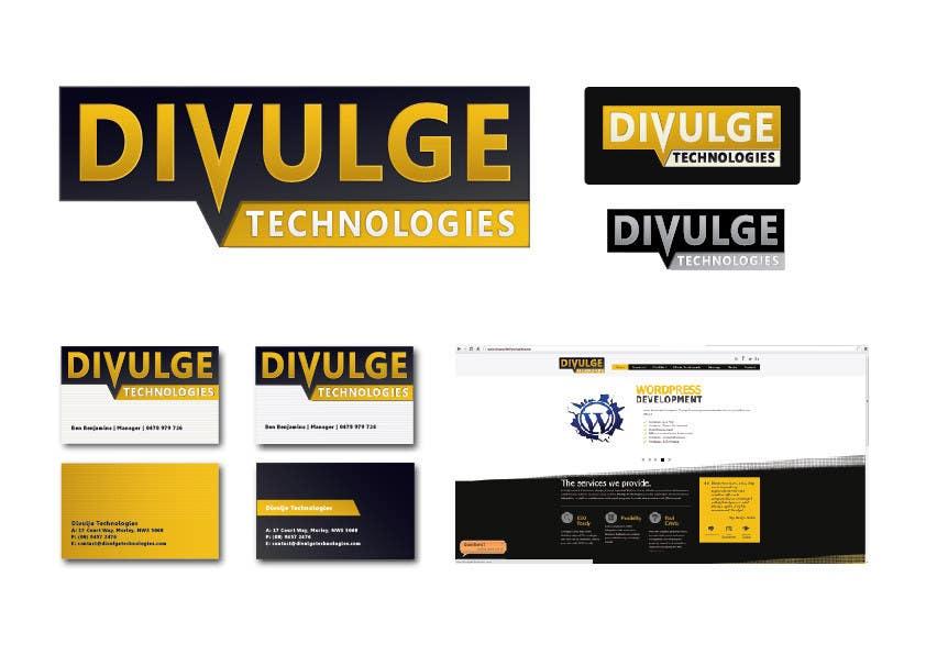 Inscrição nº 178 do Concurso para Logo Design for Divulge Technologies
