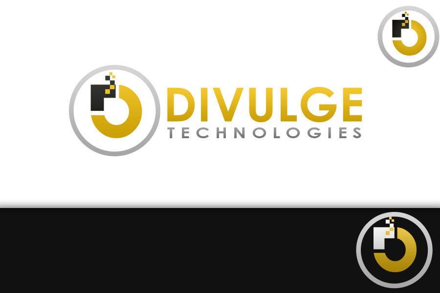 Penyertaan Peraduan #34 untuk Logo Design for Divulge Technologies