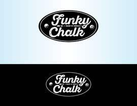 Nro 297 kilpailuun Funky Chalk logo käyttäjältä Bebolum