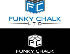 #281 for Funky Chalk logo by DibakarFreelanc