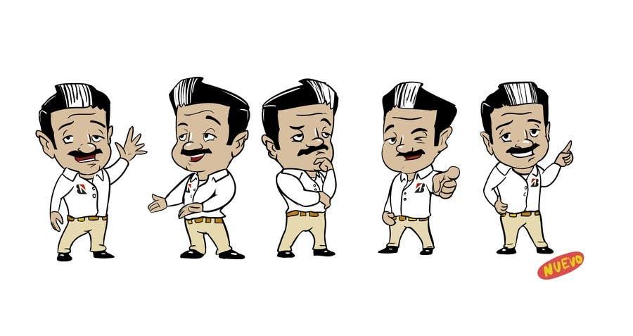 Proposition n°14 du concours Re-dibujar un personaje