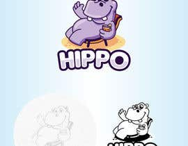 #34 for Design of Hippo Logo by Bebolum