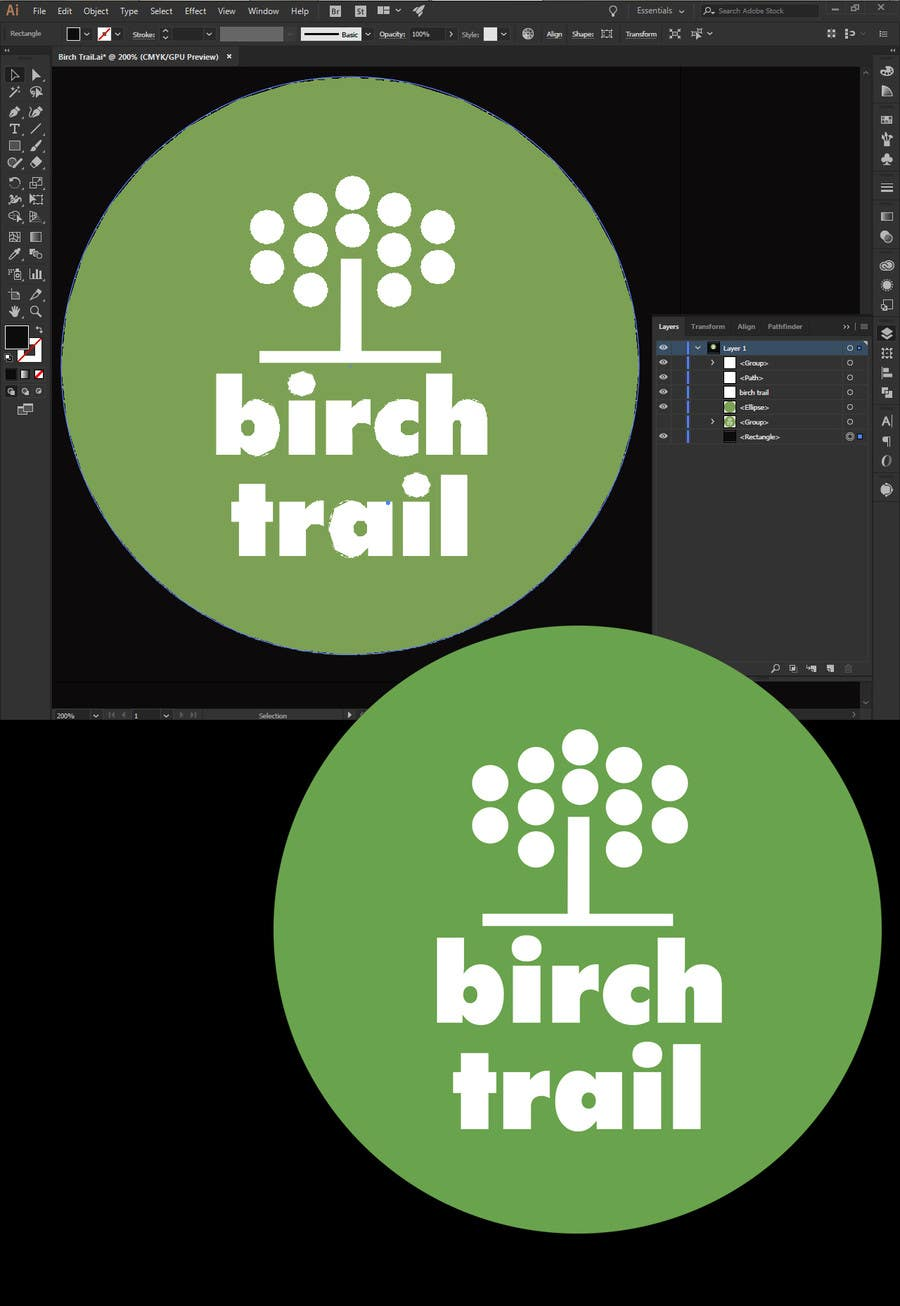 entry 38 by thebrainwiz for turn logo into a vector file freelancer