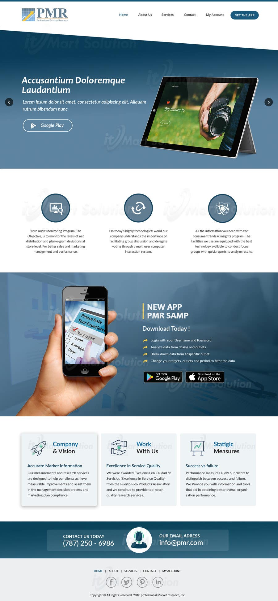 Proposition n°19 du concours Redesign a old website for a service company