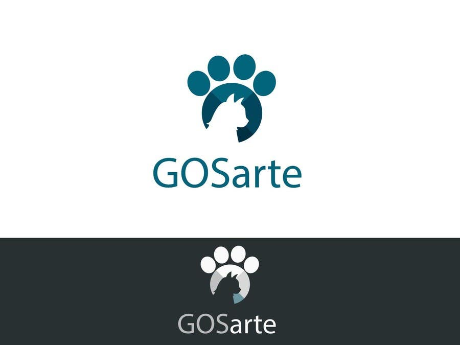 Kilpailutyö #                                        46                                      kilpailussa                                         Logo para GOSarte(www.octaviosegura.com)