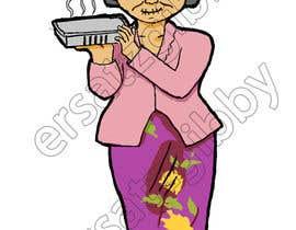 Nro 9 kilpailuun Illustrate a lady in cartoon style käyttäjältä ersatzgibby