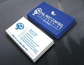 Nro 69 kilpailuun Pro Design some Business Cards for Pest Control Company käyttäjältä sozol524