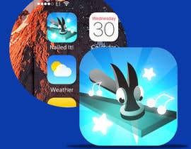 nº 76 pour Nailed It! - Design iOS game icon par ivilvend