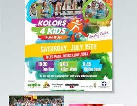 nº 20 pour Design a Color Run Poster and Handout Combo for Non-Profit par ridwantjandra