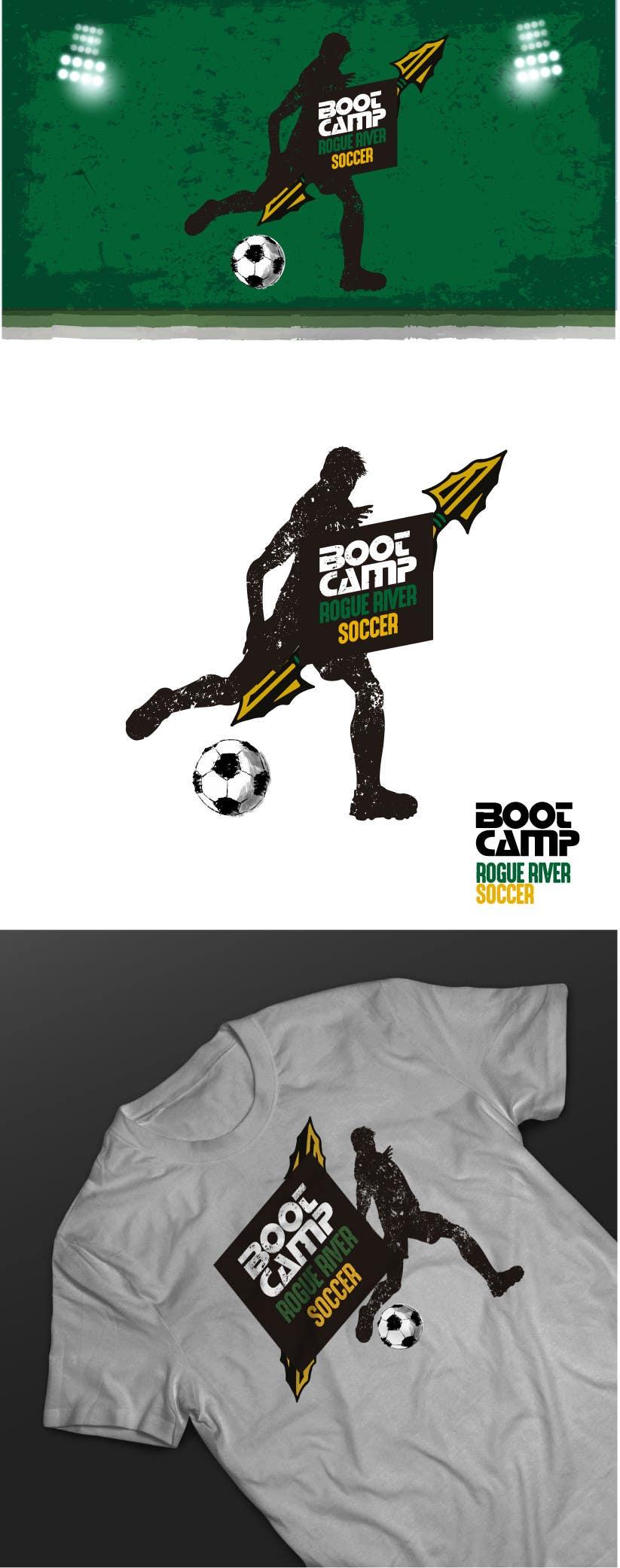 Kilpailutyö #                                        38                                      kilpailussa                                         Soccer Camp T-Shirt