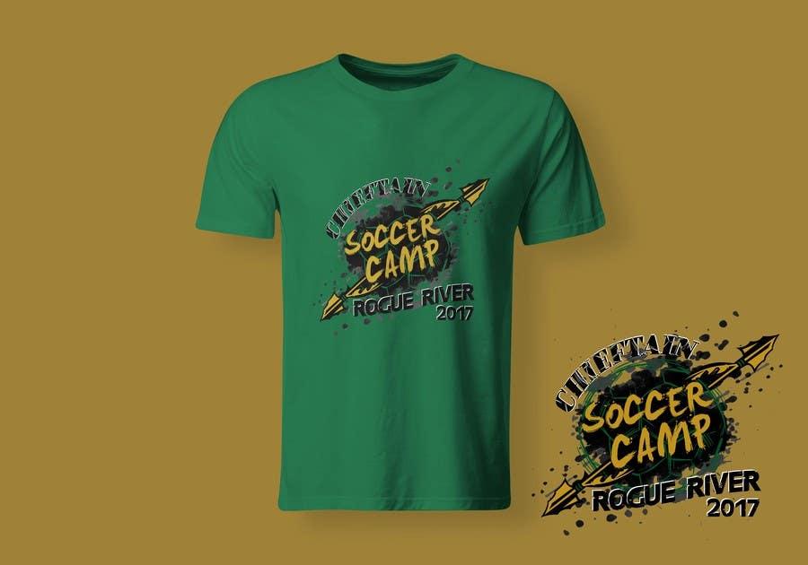 Kilpailutyö #                                        69                                      kilpailussa                                         Soccer Camp T-Shirt