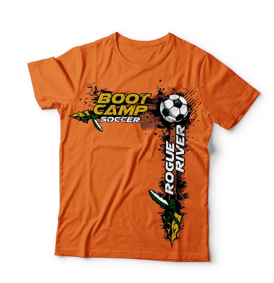 Proposition n°39 du concours Soccer Camp T-Shirt