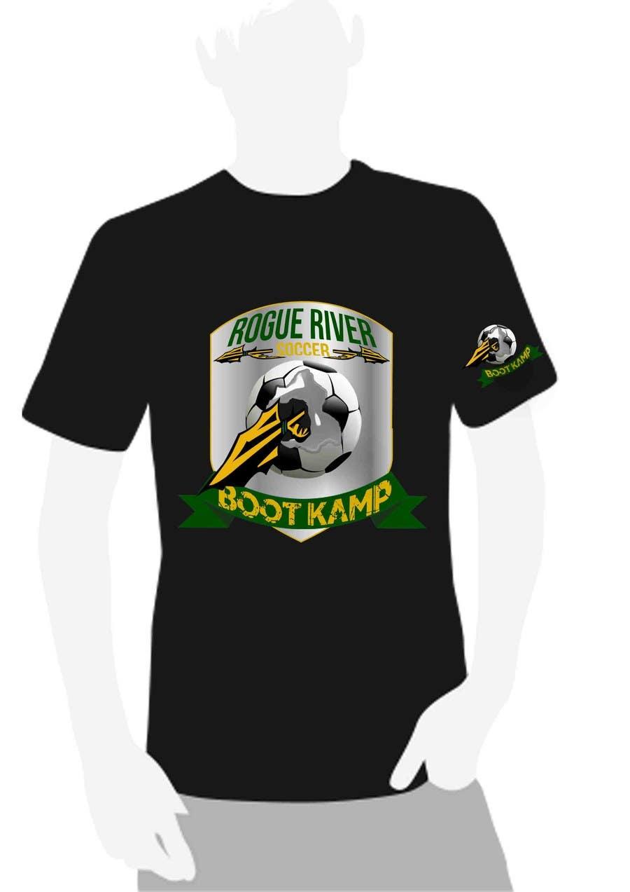 Kilpailutyö #                                        57                                      kilpailussa                                         Soccer Camp T-Shirt