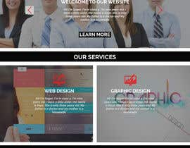 nº 5 pour Design Main Page of Website par azshuvo4747