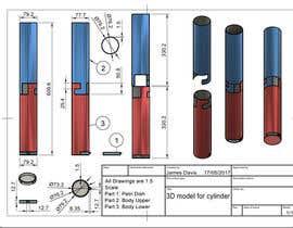 #42 for 3D model for cylinder by MrJamesDavis