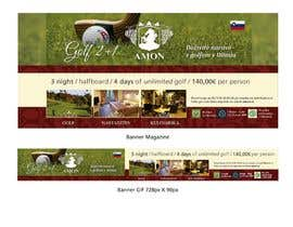 #1 for Design a golf banner for website and a magazine by PabloSabala