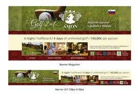 nº 1 pour Design a golf banner for website and a magazine par PabloSabala
