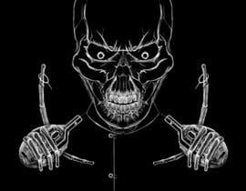 #26 for Illustrate a Skull - Angry and Badass by victorroca