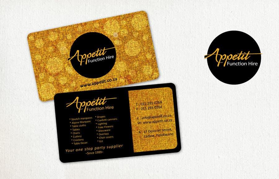 #61 for Business Card Design for Appétit Function Hire by designer12