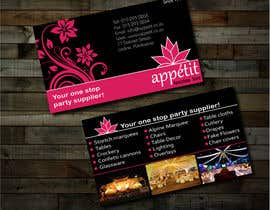 #57 pentru Business Card Design for Appétit Function Hire de către sarfarazm