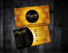 sarfarazm tarafından Business Card Design for Appétit Function Hire için no 68