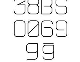 Nro 15 kilpailuun Be a part of History!  Design a font style for visually impared. käyttäjältä jrayhan