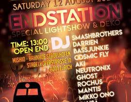 nº 7 pour Need a party flyer / poster / facebook timeline par AVisualDesigner